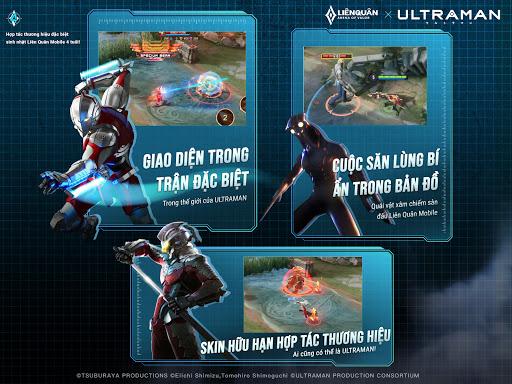 Garena Liu00ean Quu00e2n Mobile x Ultraman 1.36.1.11 screenshots 9