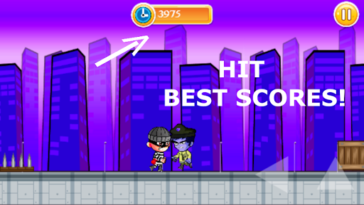 Télécharger Gratuit Jeu de Robber Run-Police Chase apk mod screenshots 5