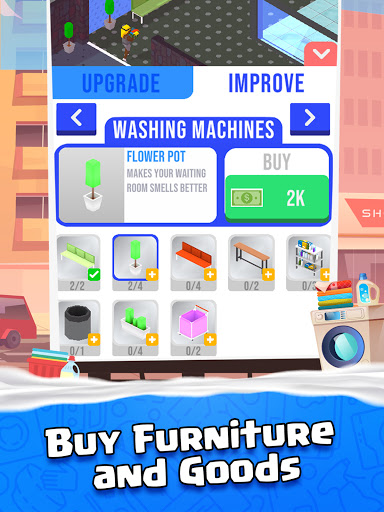 Idle Laundry  screenshots 10