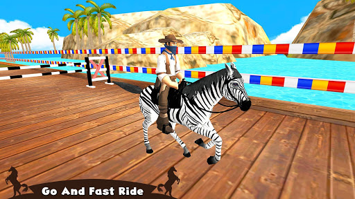 Horse Riding Simulator 3D : Jockey Mobile Game apktram screenshots 4