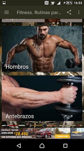 Fitness. Rutinas para el Gym  Screenshots 3