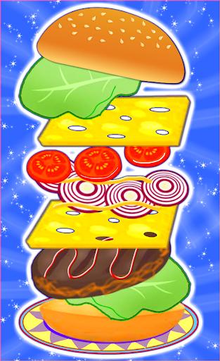 burger maker - girl cooking screenshot 1