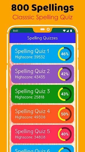 Ultimate English Spelling Quiz : New 2020 Version 2020.33 screenshots 14