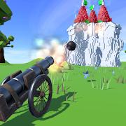 Cannons Evolved - Demolish, Cannon & Ball Shooting