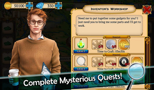 Mystery Society 2: Hidden Objects Games apkslow screenshots 16