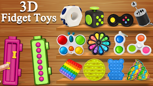 Fidget Cubes 3D Toys - Antistress & anti anxiety 1.2 screenshots 8