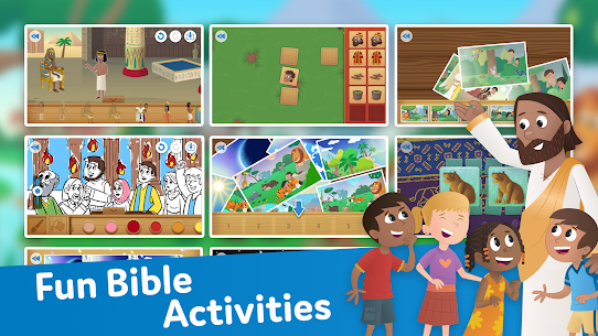 Free Bible App for Kids  Audio amp  Interactive Stories 3