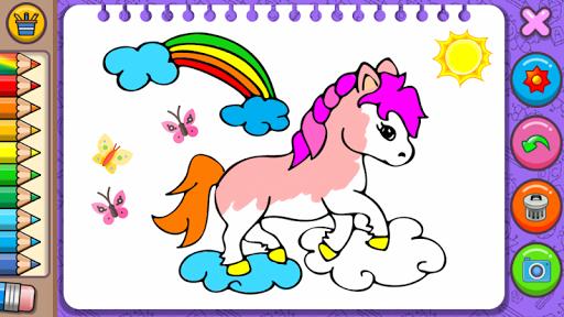 Princess Coloring Book & Games 1.44 screenshots 10