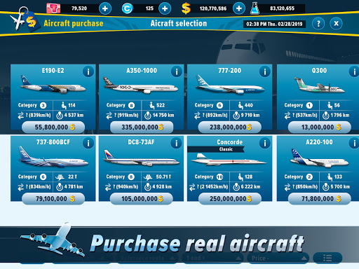 Airlines Manager - Tycoon 2020 3.03.3303 screenshots 9