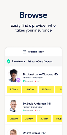Zocdoc Find A Doctor & Book On Demand Appointments 3.51.0 Screenshots 3