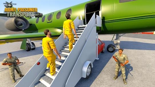Army Prisoner Transport: Truck & Plane Crime Games 7