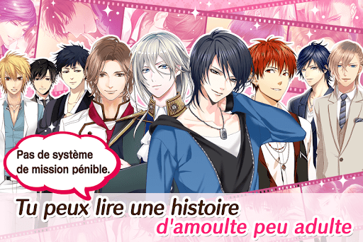 Code Triche Love stories & Otome Games L.O.G. (Astuce) APK MOD screenshots 3