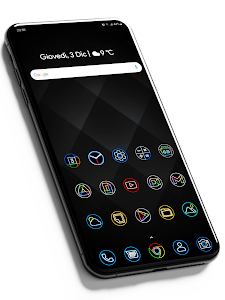 Pixly Dark  - Icon Pack 2.3.2 (Patched)