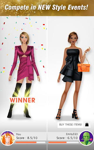 International Fashion Stylist - Dress Up Studio 4.6 screenshots 14