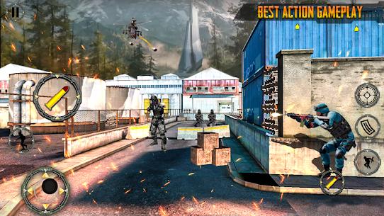 TPS Commando Battleground Mission: Shooting Games Hack & Cheats Online 5