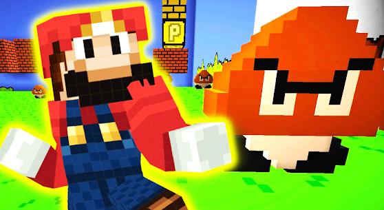 Mario Mod for Minecraft PE   Mario World Map Apk Download 3