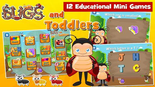 Toddler Games Age 2: Bugs  apktcs 1