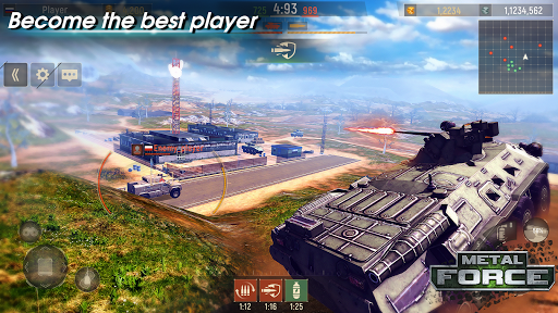 Metal Force: PvP Battle Cars and Tank Games Online  screenshots 2