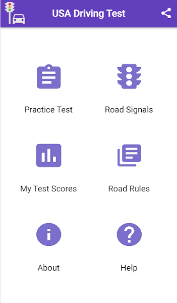 Practice Test USA & Road Signs