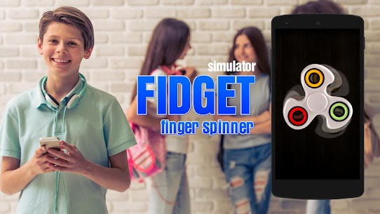 Fidget finger spinner sim For Pc – Windows 7/8/10 And Mac – Free Download 1