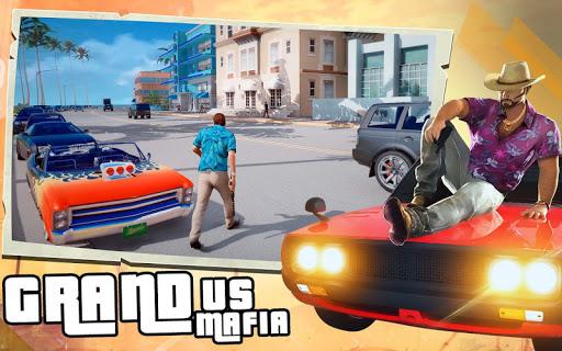Grand Car Gangster: Real Crime and Mafia Simulator apkpoly screenshots 1