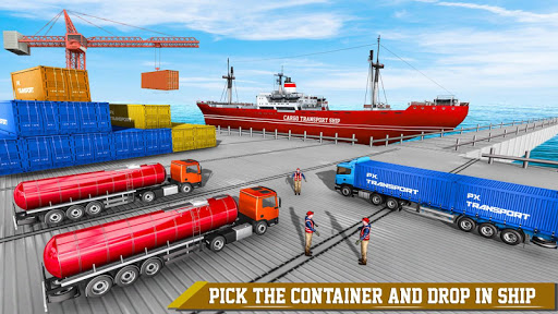 Euro Truck Driving Games: Forklift Games 2.8 screenshots 4