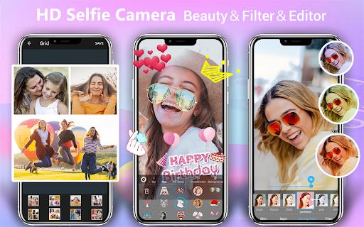 Beauty Camera - Selfie Camera with AR Stickers  Screenshots 1