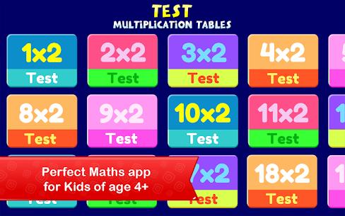 Multiplication Tables   Maths Games for Kids Apk 4