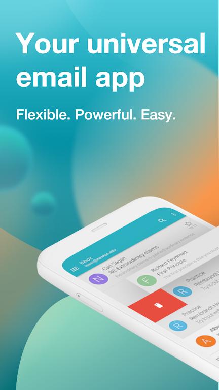 Email Aqua Mail - Exchange, SMIME, Smart inbox poster 1
