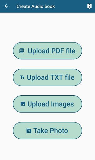 InstaReader : AudioBooks, OCR, Text To Speech 1.0.2 screenshots 2