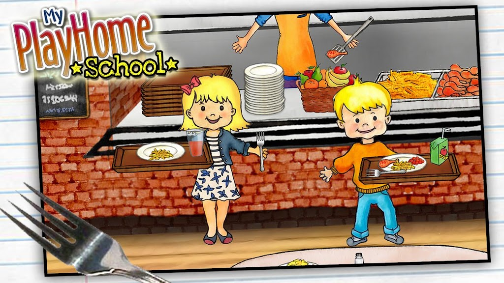 My PlayHome School  poster 2