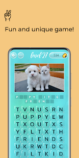 Word Search Puzzles with Pics - Connect crosswords