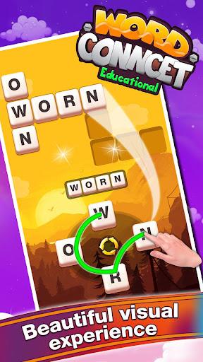word connect - crossword educational game screenshot 1