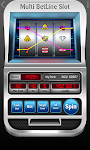 screenshot of Slot Machine - Multi BetLine