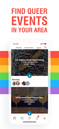 Her - Lesbian Dating, Free Chat & Meet with LGBTQ+ android2mod screenshots 5