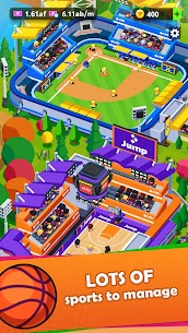 Sports City Tycoon – Idle Sports Games Simulator 1.12.4 2