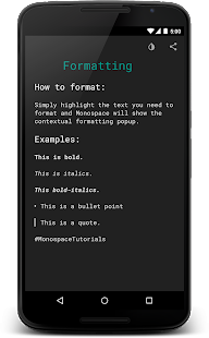 Monospace - Writing and Notes Screenshot