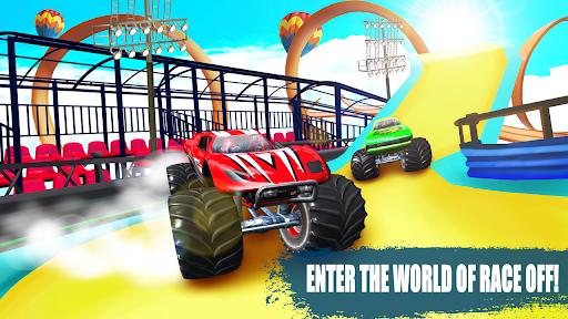 Race Off - Car Stunt Races Mega Ramps Car Jumping  screenshots 1