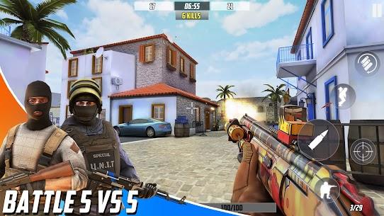 Hazmob FPS : Online Multiplayer FPS Shooting Game Mod Apk 1.1.37 (Endless Game Currency) 6
