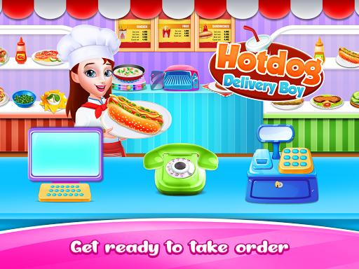 Hot dog Maker & Delivery game apkpoly screenshots 1