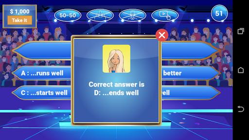 Millionaire 2020 - Free Trivia Quiz Game 1.0.2 Screenshots 4