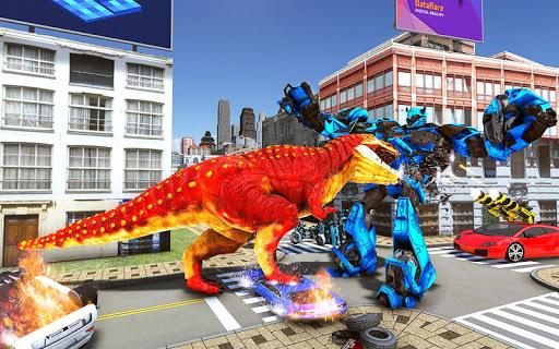 Tank Robot Car Game 2020 u2013 Robot Dinosaur Games 3d screenshots 4