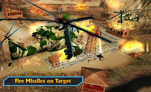 Gunship Helicopter Air War Strike android2mod screenshots 20