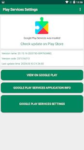 Launcher Google Play Services Settings (Shortcut)