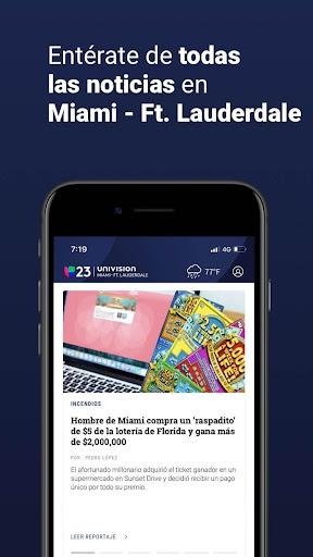 univision 23 miami screenshot 3