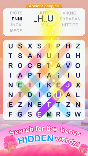 Word Search Pop - Free Fun Find & Link Brain Games  screenshots 1
