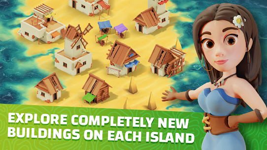 Idle Islands Empire: Building Tycoon Gold Clicker Mod Apk 1.0.7 1