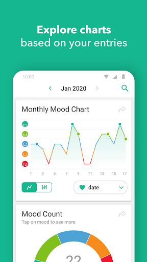 Daylio - Diary, Journal, Mood Tracker  screenshots 5