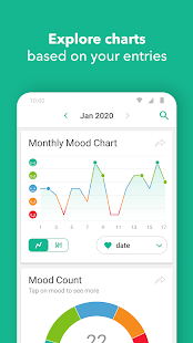 Daylio - Diary, Journal, Mood Tracker Screenshot
