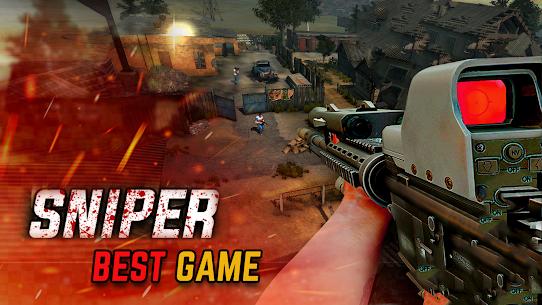 Sniper game Shooter MOD Apk: shooting games: 3D sniper 4